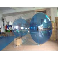 Wholesale Blue Transparent Inflatable Water Roller Balls for Kids Inflatable Pool from china suppliers