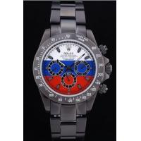 Wholesale Rolex Cosmograph Daytona Black Bracelet Russian Flag Dial rl335 Crideit card payment from china suppliers