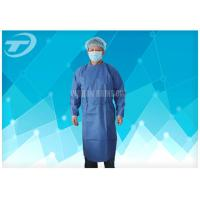 Wholesale Water Resistant PP Disposable Scrub Suits / Isolation Gowns with knitted cuffs from china suppliers