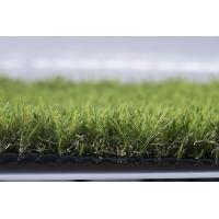Wholesale Outdoor Landscaping Artificial Grass , Spine Shape Yarn Synthetic Grass Lawns from china suppliers