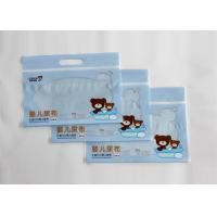 Wholesale Baby Napkin Packaging Patch Handle Bags Customized With Zipper Top from china suppliers