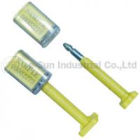 Quality Custom Container Security Seals / Container Bolt Seal With Bar Code Printed for sale