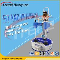Wholesale Amazing Indoor Game Stand Up Flight Simulator Machine With HQ VR Glasses from china suppliers