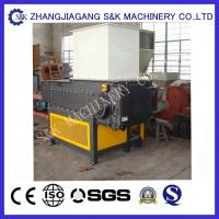 Wholesale One Shaft 37KW Shredding Wood plate Crusher Machine / Timber Shredder With Screen from china suppliers
