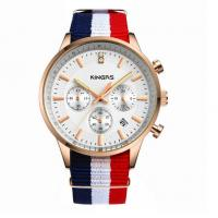 Wholesale Fashion Custom Interchangeable Nylon Strap Watch with stainless steel case watch from china suppliers