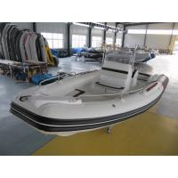 Quality 22 Feet Black & Red Inflatable Rib Boat Rib 680 In Fiberglass Hull And Hypalon for sale