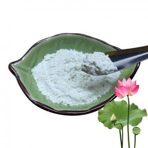 China Medicinal Lotus Flower Extract 10% 50% 98% Nuciferine Powder Stimulate Digestion on sale