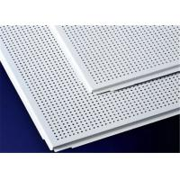 Wholesale Easy Install Aluminum Suspended Ceiling Tiles 600 X 600mm / 600 X 1200mm from china suppliers
