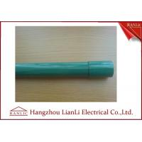 Wholesale Steel PVC Coated Electrical Conduit Pipe C/W Coupling & Plastic Cap 3.05 Meters from china suppliers