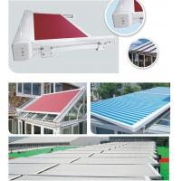 Buy cheap heavy duty Remote motor sunshade greenroom of  waterproof roof retractable pergola awnings from wholesalers