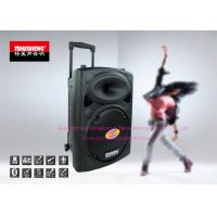 Quality Powered Portable PA Speakers Professional With Lead Acid Battery for sale