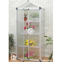 Wholesale 108x55x198cm Silver Color Double Door Nursery Series Garden Greenhouse from china suppliers
