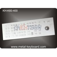 Wholesale Custom Rugged Industrial Kiosk Keyboard with Trackball 60 Keys Water Resistant from china suppliers