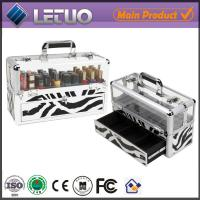 Wholesale aluminum professional nail artist cosmetic case personalized cosmetic bags makeup case from china suppliers