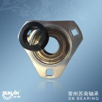 Wholesale Three Bolt Stamped Steel Pillow Block Bearings , Sealed Flange Bearing SAPFT206 from china suppliers