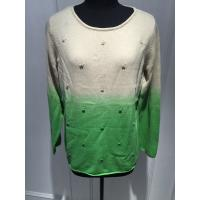 Wholesale Soft Hand Feeling Floral Print Sweater / Dip Dye Sweater For Women from china suppliers