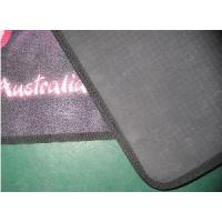 Wholesale PVC Bottom and Polyester Upper Logo Floor Door Mat (HC16) from china suppliers
