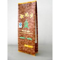 Wholesale 100 Micron PET / AL / PE Coffee / Tea Foil Bag Packaging with CMRK / Pantone Printing from china suppliers