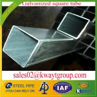 Wholesale Galvanized Square pipe/tubing from china suppliers