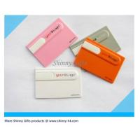 Wholesale Promo Gifts 2gb credit card usb flash drive from china suppliers