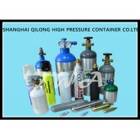 Wholesale 1.5L High Pressure Aluminium Gas Bottles 316mm Length Hospital Oxygen Cylinder from china suppliers