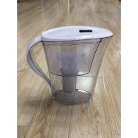 Wholesale ABS / AS White Countertop Alkaline Water Purifier Pitcher High PH Natural Filtration System from china suppliers