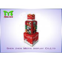 Wholesale Christmas tree shape colorful printing custom cardboard display stands from china suppliers