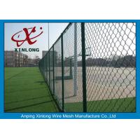 Wholesale Weave Style Diamond Wire Mesh Fence For Outdoor Playground 50 * 50mm from china suppliers