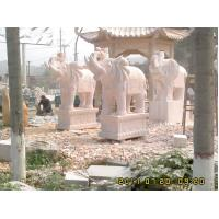 Wholesale Classical Carved Natural Stone Elephant Sculpture from china suppliers