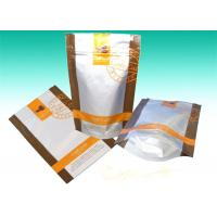 Wholesale Clear Matte Aluminum Foil Bags Stand Up Zipper Dried Foods Packaging Bag from china suppliers