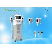 Wholesale 5 Heads 0kpa-100kpa Vacuum Cryolipolysis Slimming Machine WIth RF and Cavitation from china suppliers