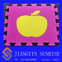 Wholesale Colorful Educational Toy Foam Puzzle Mat / Playground Floor Mats For Kids from china suppliers