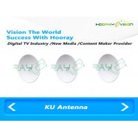Wholesale Linear Polarization Ku Band Antenna 20W 35dBi 10-14 GHz Frequency Range from china suppliers