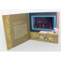 Wholesale Rechargeable LCD modules Video Brochure Card for opening Veremonies , 4 color printing from china suppliers