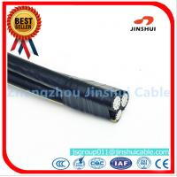 Wholesale Customized Size Triplex Aluminum Wire ABC Cables , Outside Overhead Electrical Wire from china suppliers