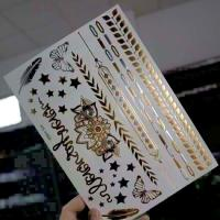 Wholesale Shiny Waterproof Hair Temporary Tattoo Sticker Environmental Protection from china suppliers