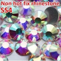 Buy cheap Top China swaro crystal stone wholesale nails stones for design ss4 crystal ab from wholesalers