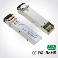 Wholesale 1.25Gbps DWDM SFP 80KM Optical Transceiver Module For Gigabit Ethernet from china suppliers
