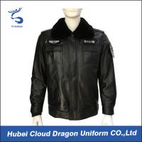 Wholesale Breathable Warmly Mens Security Guard Jackets With Badges , Eco Friendly from china suppliers