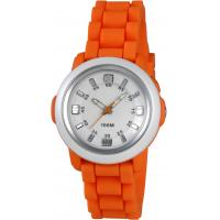 Wholesale Silicon Loop Quartz Analog Watch With EL Back Light , 36.7*34.8*12.8mm from china suppliers