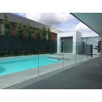 Wholesale 12mm toughened glass balustrading glass pool fencing approved by AS/NZS 2208 from china suppliers