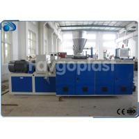 Wholesale Industrial Plastic Extrusion Equipment For PVC Plastic Pipe / Profile Making from china suppliers