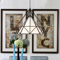Buy cheap Modern simple design Iron + cloth lampshade indoor Pendant lighting (DL2230L) from wholesalers
