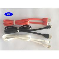 Wholesale 1 Meter 2.4A Micro USB TPE Jacket Sync Charging Data Cable Orange , Yellow , Red from china suppliers