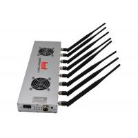 Quality 8 Antennas LTE800 GSM900 3G2100 Cell Phone Signal Jamming Device For Conference Rooms for sale