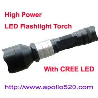 Quality High Power LED Flashlight Torch for sale