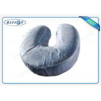 Wholesale U - shaped Disposable Pillow Slip Comfortable Neck Guard Non woven Pillow Cover from china suppliers