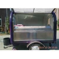 Wholesale Two Big Tires On Wheel Mobile Kitchen Trucks Concession Trailers from china suppliers