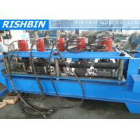 Quality PU Foam Rolling Door Slat Roller Shutter Forming Machine with 70 mm Axis Diameter for sale