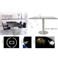Home restaurant dining table smart and built in - Table induction 2 feux ...